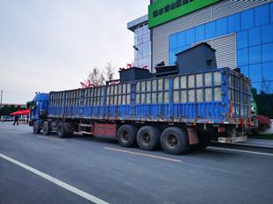 辉泰矿业皮带机发货