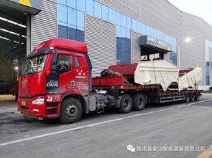 蒙西水泥集团配套设备发货现场