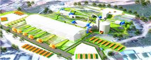 河南新乡时产2500吨精品砂石欧宝体育客户端生产线