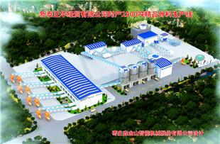 新泰正华时产2500吨精品欧宝体育客户端生产线