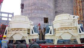中国建材500T时产精品机制砂生产线
