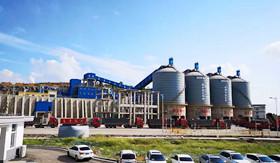 通鸣矿业高楼山时产1500吨精品环保砂石欧宝体育客户端生产线