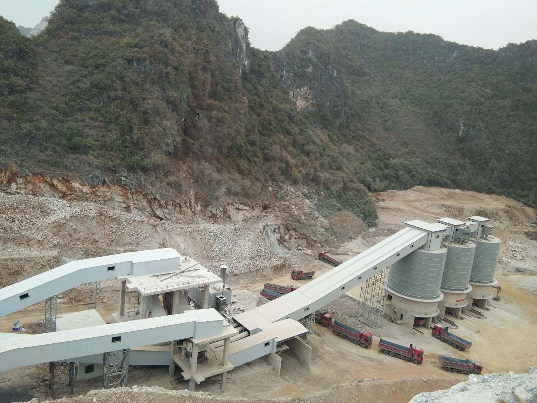广西盛典矿业600吨生产线
