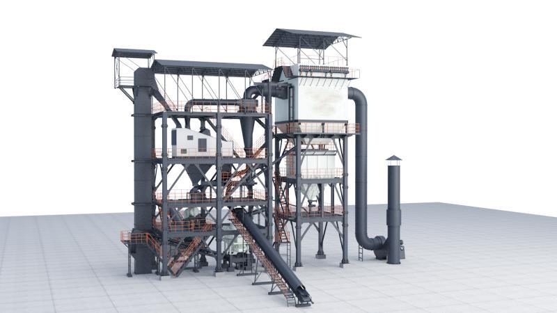 楼式制砂系统